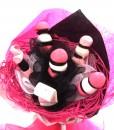 bouquet bonbons rose 1