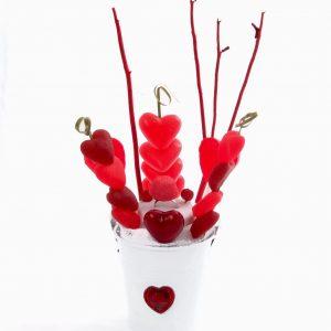 Saint Valentin en bonbons