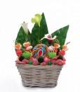 corbeille bouquet de bonbons