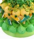 gateau bonbons boules coco