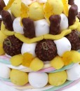 gateau bonbons ourson chocolat