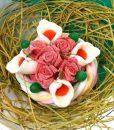 bouquet bonbons arum